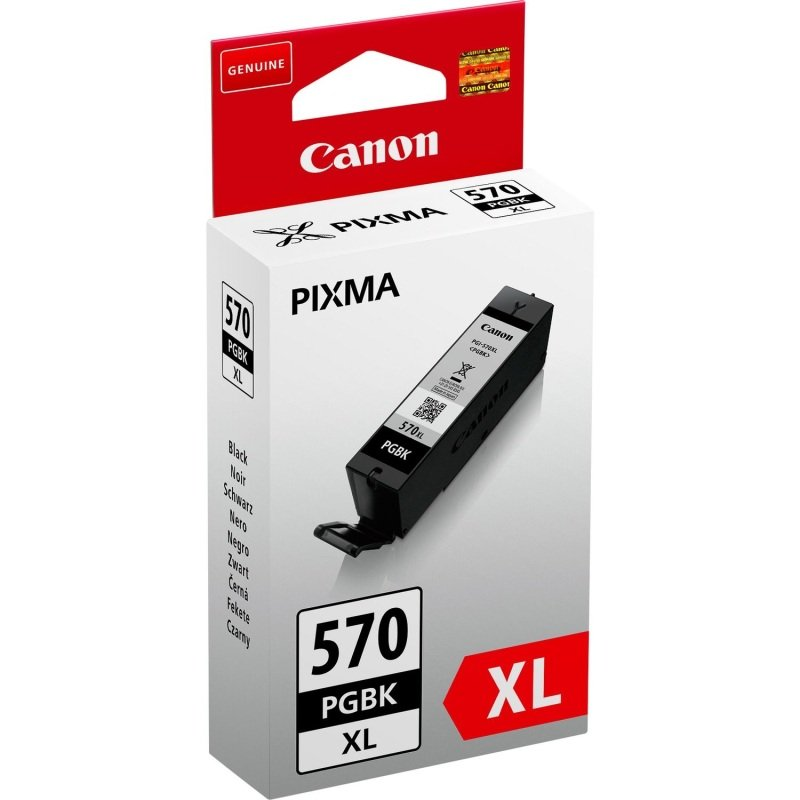 Canon PGI-570PGBK XL High Yield Pigment Black Ink Cartridge