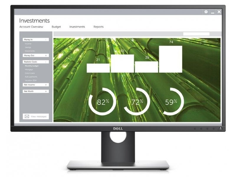 EXDISPLAY Dell 27 Monitor P2717H 68.6cm (27) VGA HDMI DP Black UK 3 Year Advanced Exchange