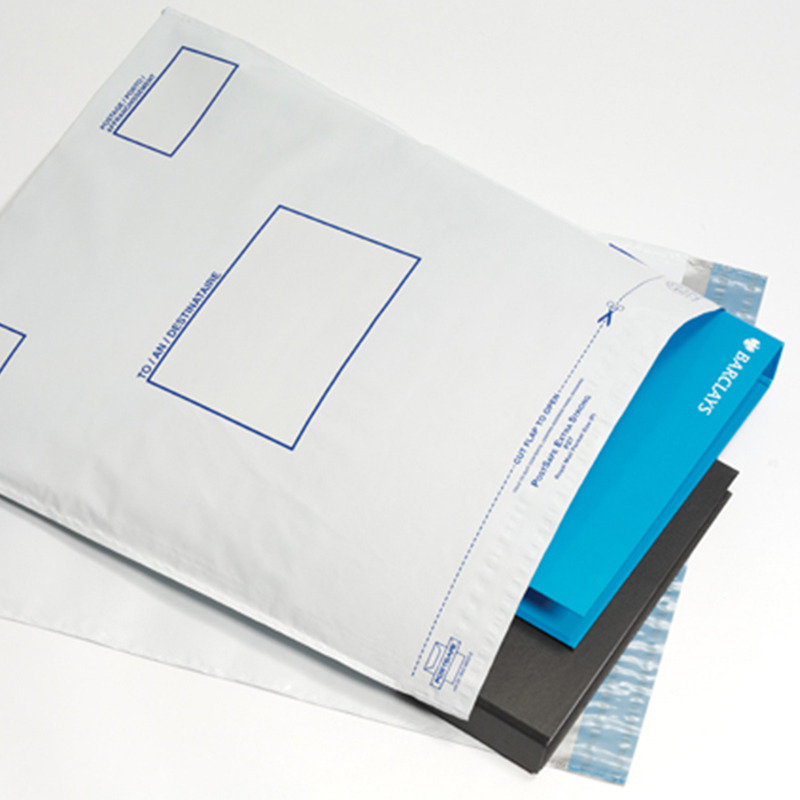 Postsafe Extra-Strong Peel and Seal Polythene Envelopes Opaque -  250x310mm - 5 pack