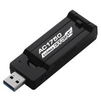 AC1750 Dual-Band Wi-Fi USB 3.0 Adapter with 180-degree Adjustable Antenna