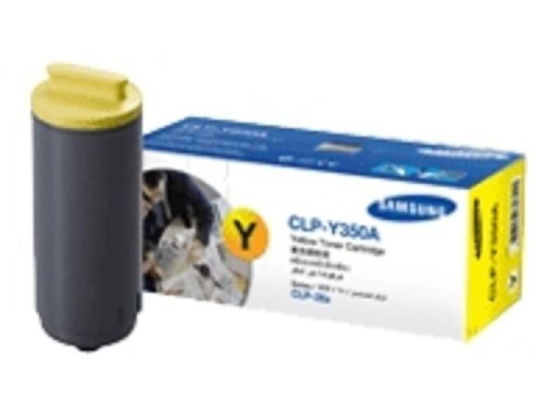 Samsung CLP-Y350A Yellow Laser Toner Cartridge 2000 Pages