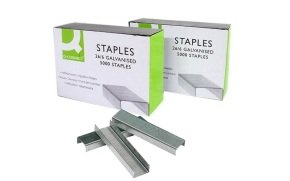 Q Connect 26/6 Staples - 5000 Pack