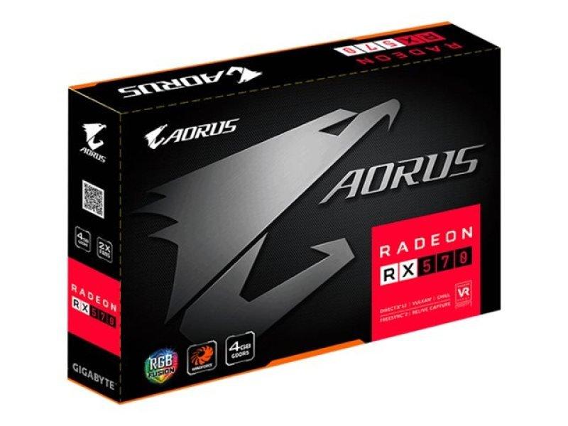 Gigabyte AMD Radeon RX 570 AORUS 4GB Graphics Card