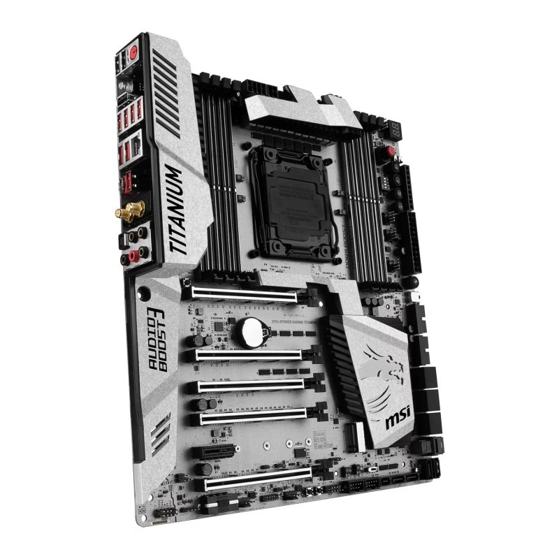 MSI Intel X99A XPOWER GAMING TITANIUM ATX Motherboard