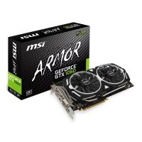 MSI NVIDIA GeForce GTX 1060 6GB ARMOR OC Graphics Card