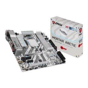 MSI Intel B250M MORTAR ARCTIC Kaby Lake Micro ATX Motherboard