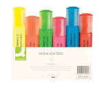 Q-Connect Assorted Highlighter Pens - 6 Pack