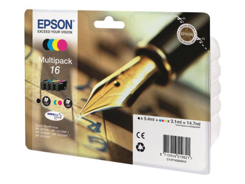 epson 16 multipack ink cartridge. Black Bedroom Furniture Sets. Home Design Ideas