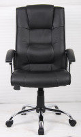 HH Solutions Winchester Executive Leather Chair - Black