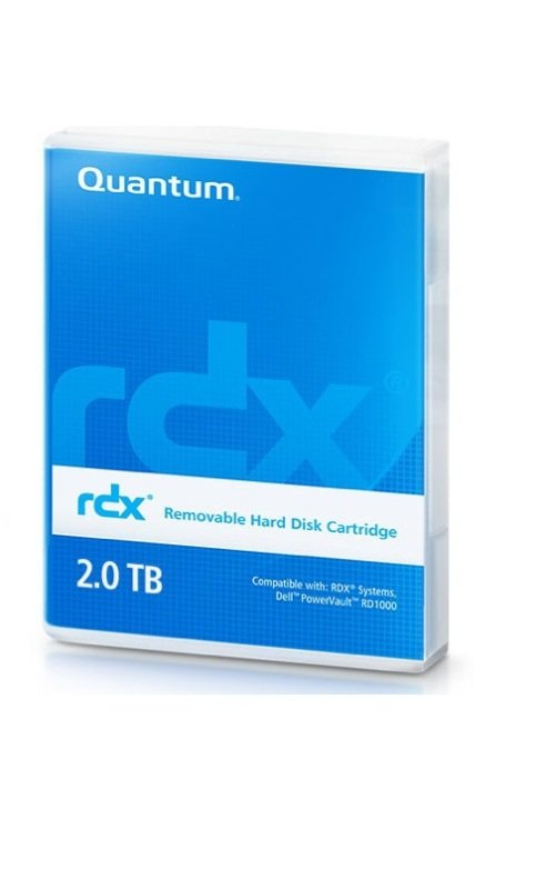 Quantum MR200-A01A 2TB RDX Back Up Storage Media