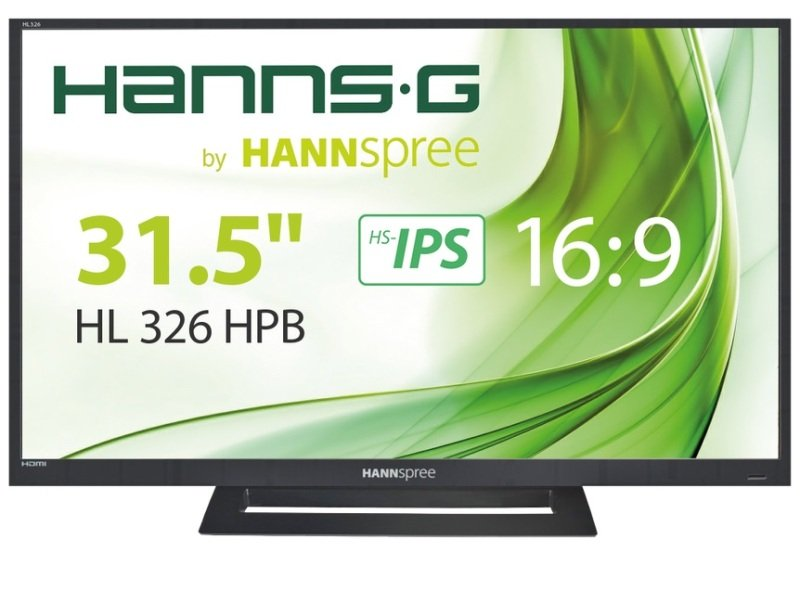 "HannsG HL326HPB 31.5"" Full HD Monitor"