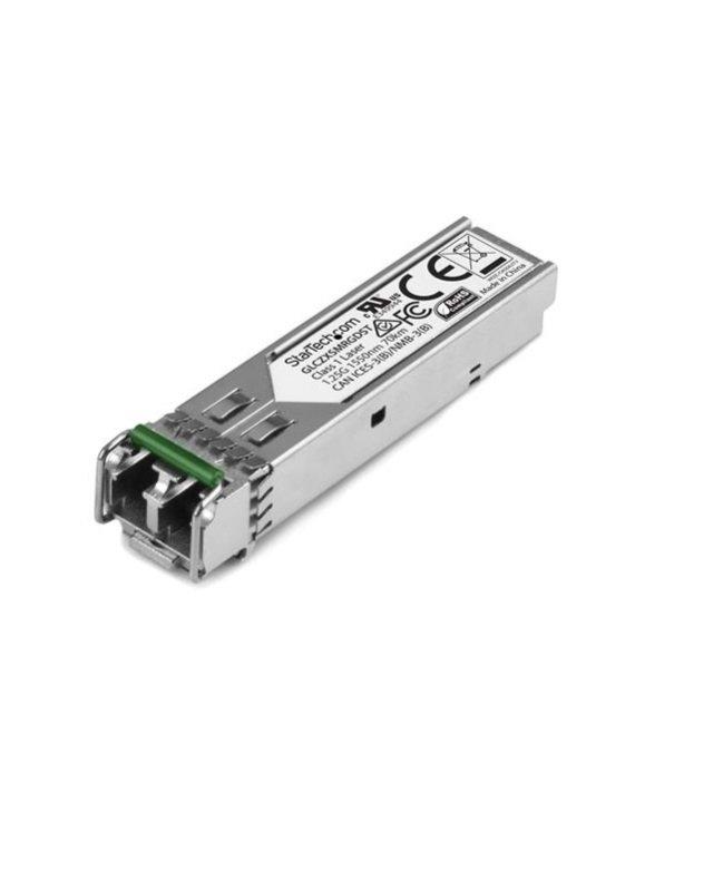 Gigabit Fiber 1000Base-ZX SFP Transceiver Module Cisco GLC-ZX-SM-RGD Compatible SM LC 70KM