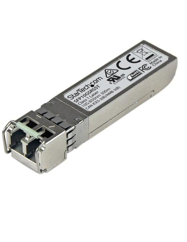Image of 10 Gigabit Fiber SFP+ Transceiver Module Cisco SFP-10G-SR-S MM LC with DDM 300 m