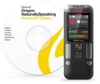Philips DVT2710 Digital Voice Tracer and Dragon Speech Software