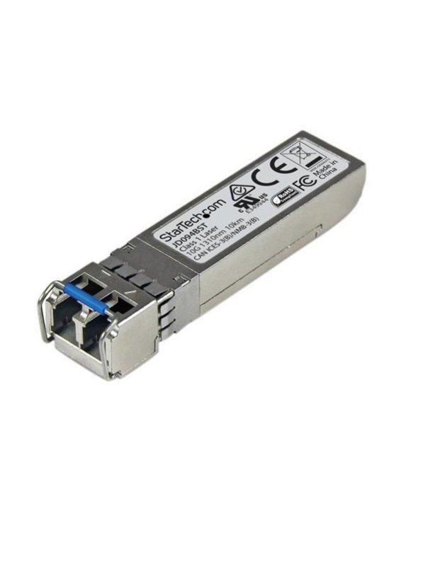Image of 10 Gigabit Fiber 10GBase-LR SFP+ Transceiver Module HP JD094B Compatible SM LC 10 km
