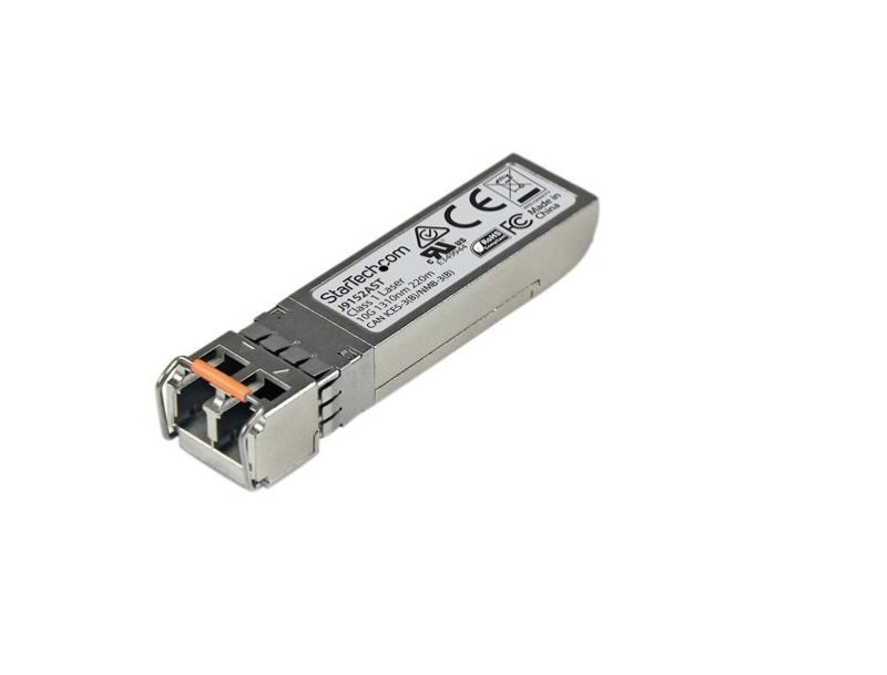 Image of 10 Gigabit Fiber SFP+ Transceiver Module HP J9152A Compatible MM LC 220 m