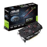 Asus NVIDIA GeForce GTX 1060 6GB OC PLUS 9Gbps Graphics Card