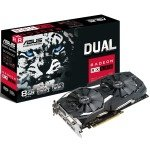 Asus Radeon RX 580 Dual 8GB OC Graphics Card