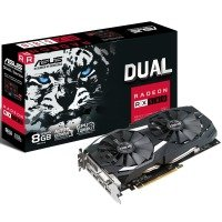 ASUS AMD Radeon RX 580 Dual 8GB Graphics Card