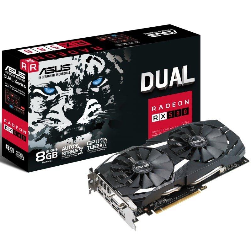 Asus Radeon RX 580 Dual 8GB OC Graphics Card