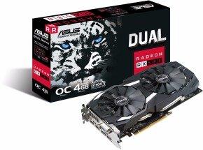 Asus AMD Radeon RX 580 Dual 4GB Graphics Card