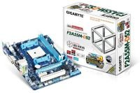 Gigabyte GA-F2A55M-DS2 A55 Socket FM2 VGA DVI 7.1 Channel Audio mATX Motherboard