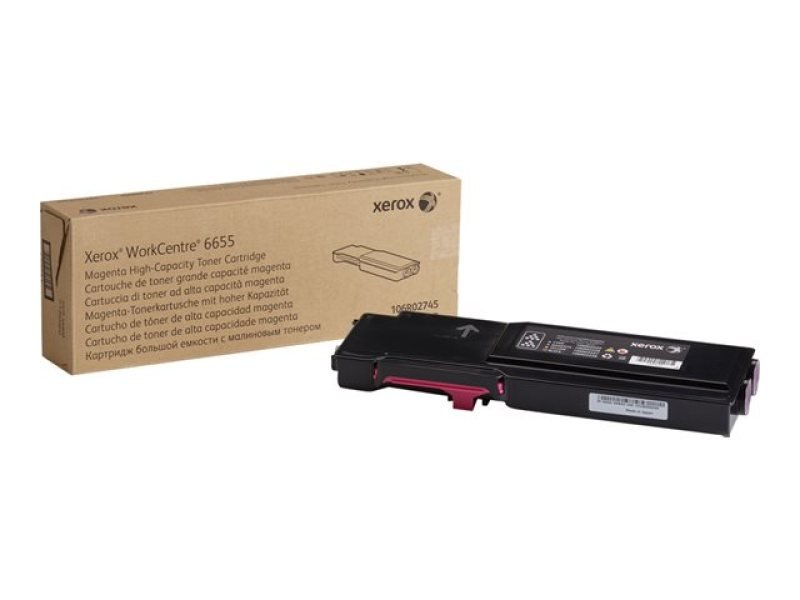 Xerox 106R02745 High Yield Magenta Toner Cartridge