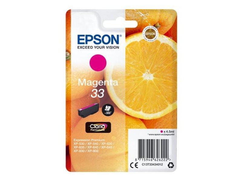 Epson 33 Magenta Inkjet Cartridge