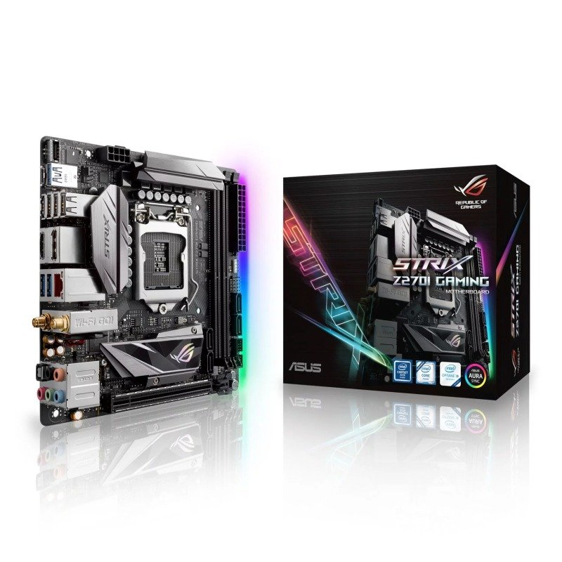 Asus Intel ROG Strix Z270I Socket 1151 mITX Gaming Motherboard