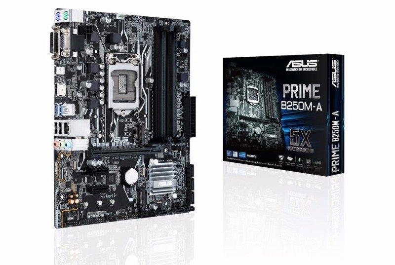EXDISPLAY Asus Intel PRIME B250M-A LGA 1151 mATX Motherboard