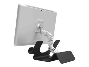 Compulocks Universal Security Tablet Holder - Stand for tablet - lockable - high-grade aluminium - black - table-top