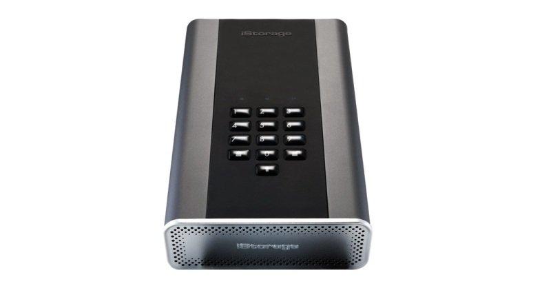 Image of iStorage 3TB diskAshur DT2 HDD