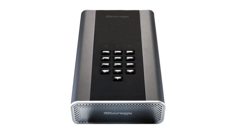 Image of iStorage 2TB diskAshur DT2 HDD