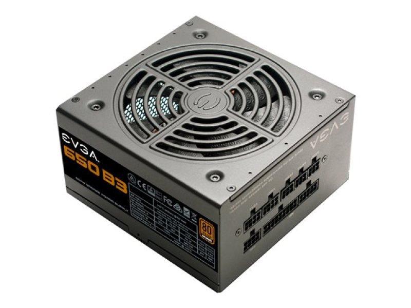 EVGA 650w B3 PSU 80+ Bronze Fully Modular Power Supply