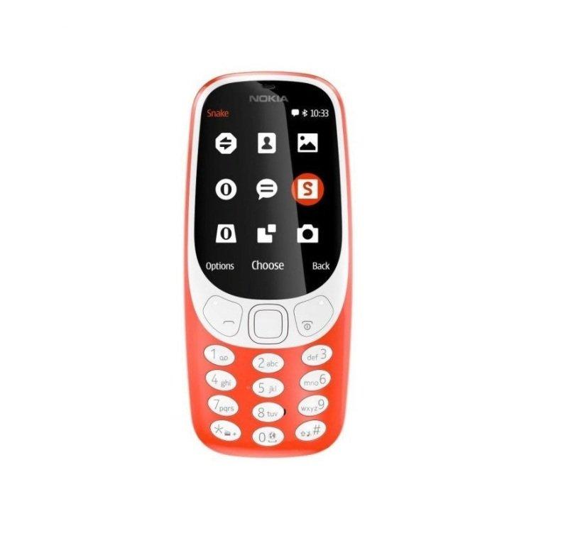 "Nokia 3310 Red 2.4"" 16MB 2G Unlocked & SIM Free"