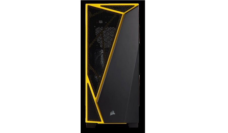 CORSAIR Carbide SPEC-04Mid-Tower Gaming Case Yellow/Bla