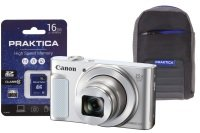 Canon Powershot Sx620 Hs White Camera Kit In 16gb Sdhc Class 10 Card & Case