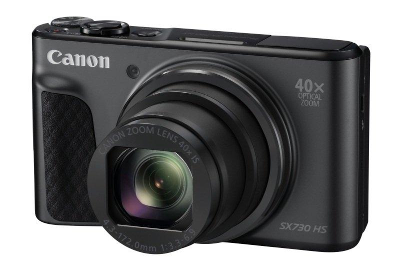 Canon PowerShot SX730 HS Camera Black 20.3MP 40x Zoom FHD WiFi