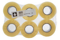 Ebuyer E-Tape 48mm x 150m Packaging Tape - 6 Pack