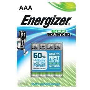 Energizer Ecoadvanced E92/aaa Pk4