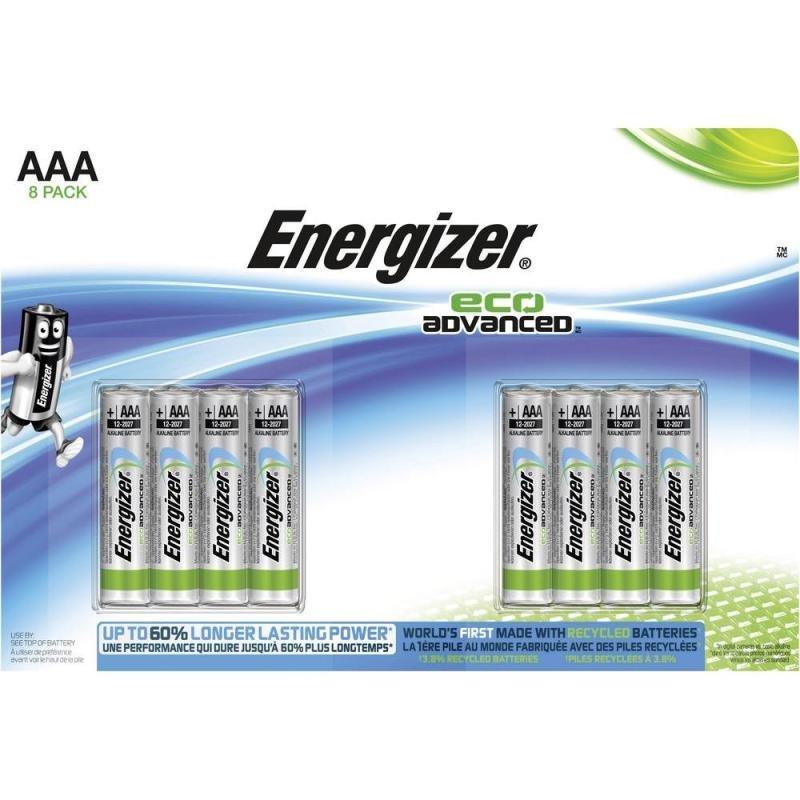 Energizer Ecoadvanced E92/aaa Pk8