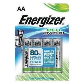 Energizer Ecoadvanced E91/aa Pk4