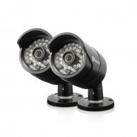 EXDISPLAY Swann PRO-H850 720P Multi-Purpose Day/Night Security Camera 2 Pack