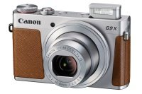 "Canon PowerShot G9X Camera Silver, 20Mp CMOS , 3 x Zoom , Wi-Fi, 3.0"" LCD"
