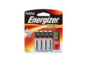 Energizer Max E92/aaa Pack 8