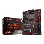 MSI AMD Ryzen AM4 X370 GAMING PLUS ATX Motherboard