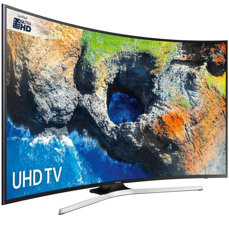 "Samsung MU6200 49"" Curved Ultra HD TV"