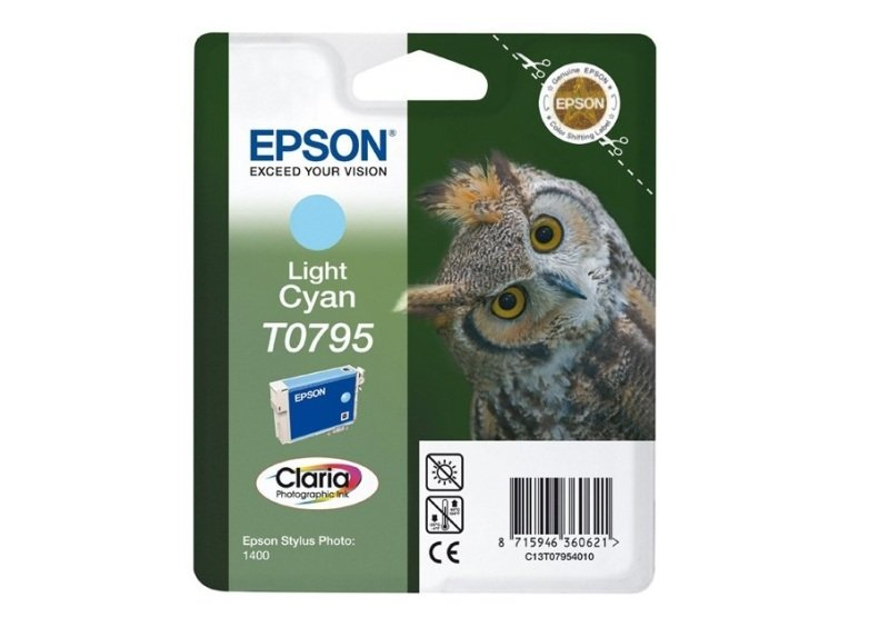 Epson T0795 11ml Light Cyan Ink Cartridge
