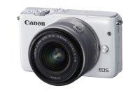 Canon Eos M10 Csc Camera Kit Inc 15-45mm Lens White