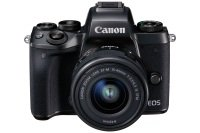 Canon Eos M5 Black Csc Camera Black + Ef-m 15-45mm Lens